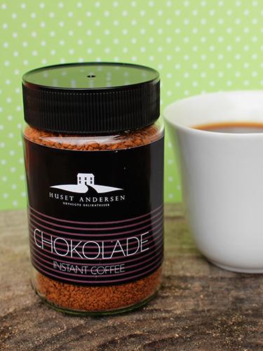 Instant Kaffe med chokoladesmag
