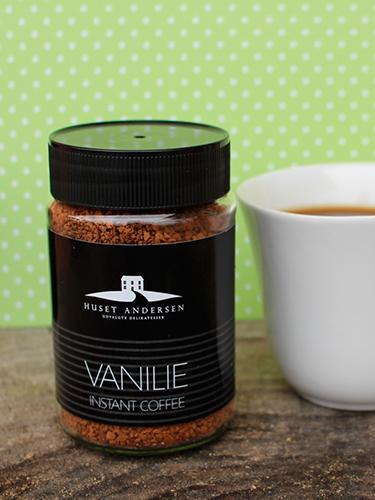 Instant Kaffe med Vanilje fra Huset Andersen
